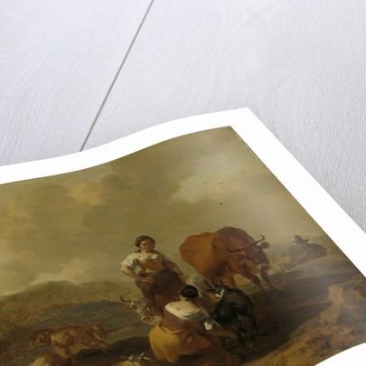 Italian Landscape by Nicolaes Pietersz. Berchem