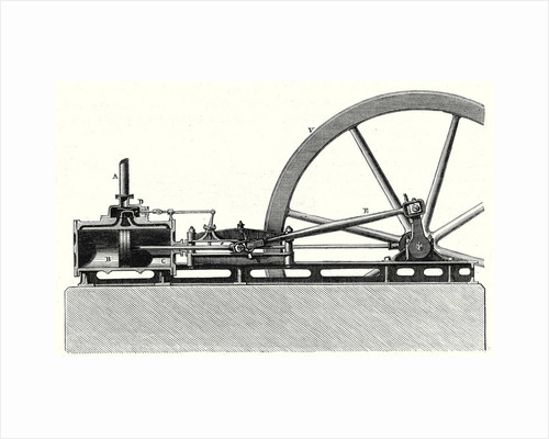 Horizontal Cylinder Machine by Anonymous