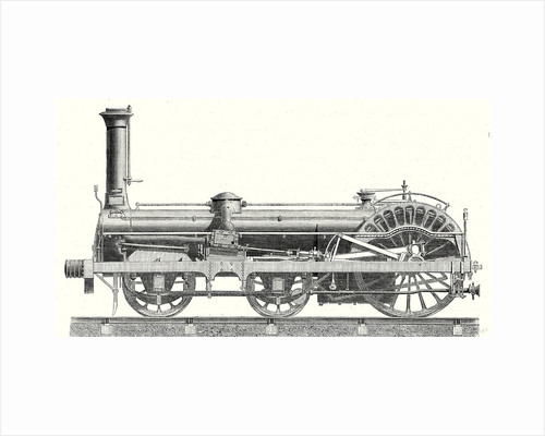 Crampton Locomotive by Anonymous