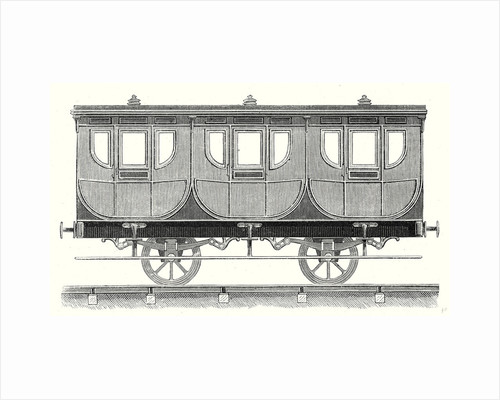 First-Class Wagon by Anonymous
