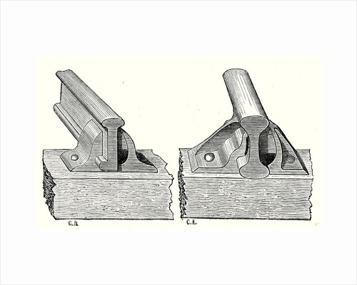 Single Flanged T Parallel Rail and Double Flanged T Parallel Rail by Anonymous