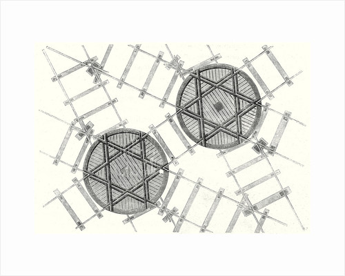 System of Hexagonal Turning Plates for Parallel Tracks and Crossed Tracks by Anonymous