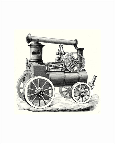 M. Durenne's Traction Engine by Anonymous