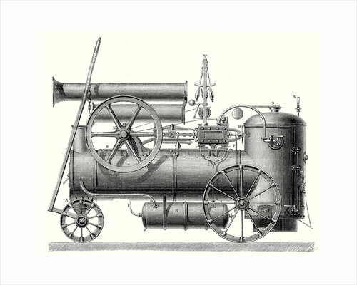 Mm. Cail and Company's Traction Engine by Anonymous