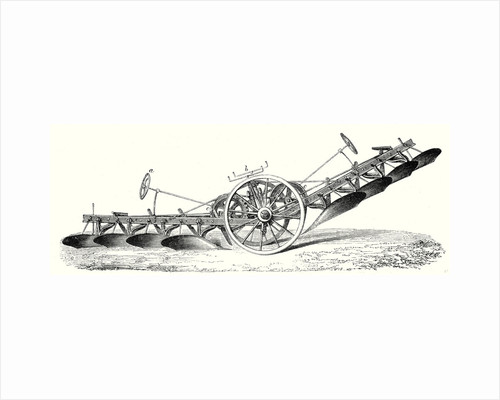 M. Fowler's Steam Plough by Anonymous