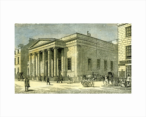 Aberdeen Music Hall Buildings 1885 UK by Anonymous