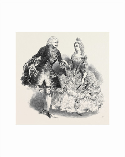 Costumes of Her Majesty and H.R.H. Prince Albert by Anonymous