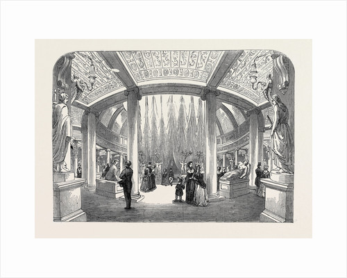 Reopening of the Colosseum in Regent's Park, London: The Glyptotheca, or Museum of Sculpture. by Anonymous