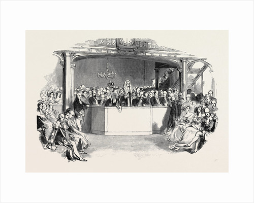 The House of Commons Before Her Majesty, at the Bar of the Peers by Anonymous