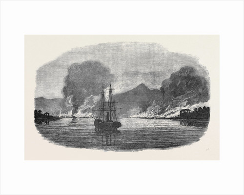 Destruction of a Piratical Chinese Fleet at Pinghoy by Anonymous