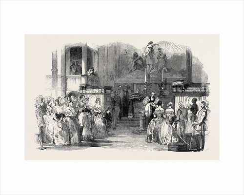 Christening of the Infant Prince Arthur, in the Royal Chapel at Buckingham Palace, June 29, 1850 by Anonymous