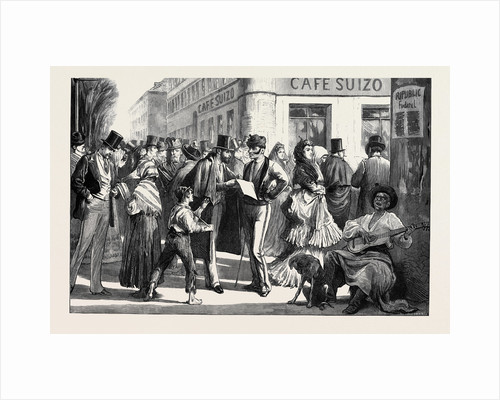 Spain: Street Gossips of Madrid 1873 by Anonymous