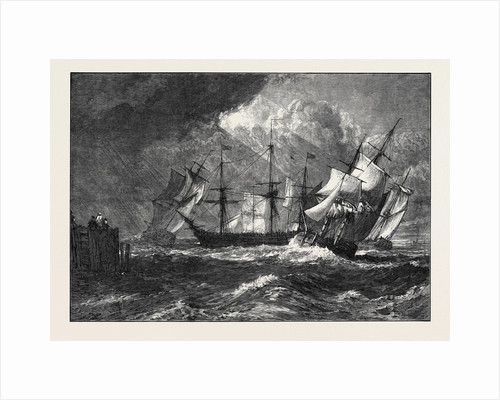 Shipping from Turner's Liber Studiorum 1873 by Anonymous