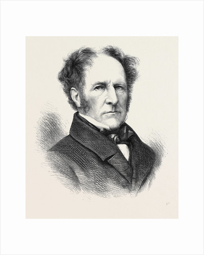 The Late Viscount Ossington Ex-Speaker of the House of Commons 1873 by Anonymous