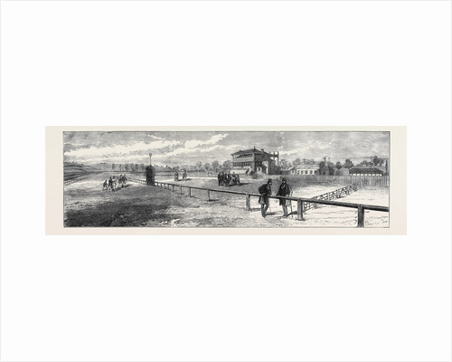 The New Racecourse Bristol: The Grand Stand 1873 by Anonymous