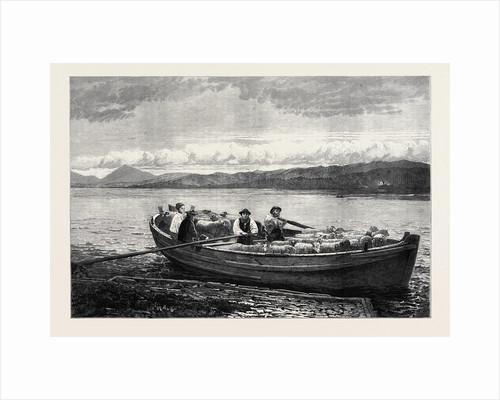 The Ferry Boat 1873 by Anonymous