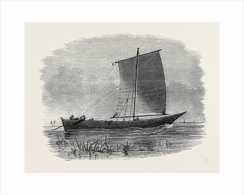 Vessels Used in the Zanzibar Slave Trade: Matapa Boat of the Northern Rivers 1873 by Anonymous