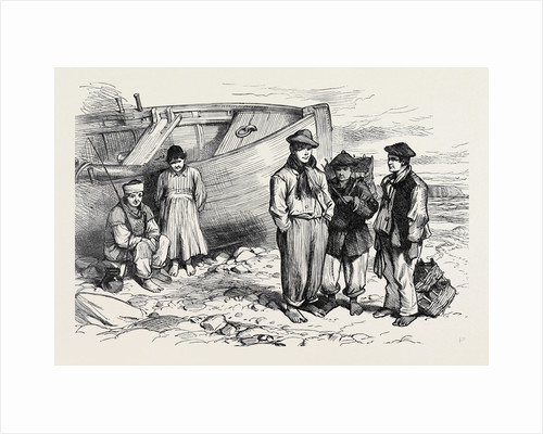 Boys of the Claddagh Galway 1873 by Anonymous