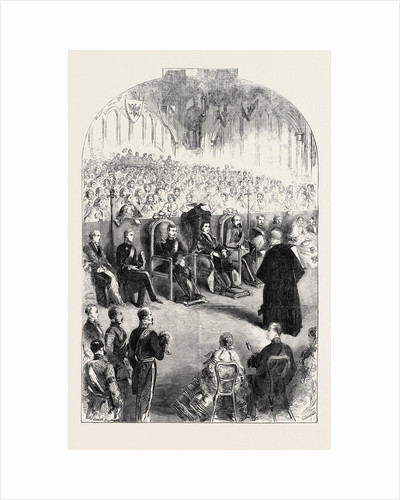 Presentation of the Freedom of the City of London to Prince Frederick William of Prussia in the Guildhall by Anonymous