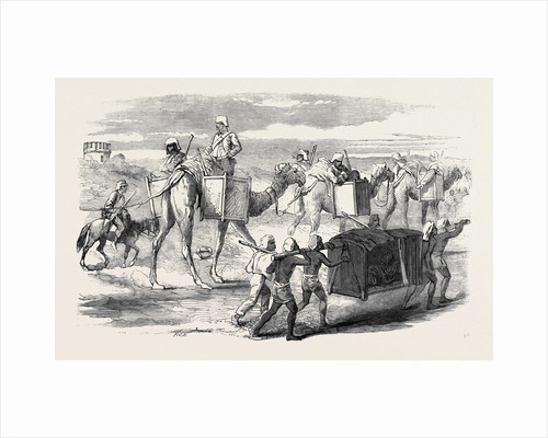 Pushing Forward British Troops to Delhi, Captain G.F. Atkinson Bengal Engineers by Anonymous