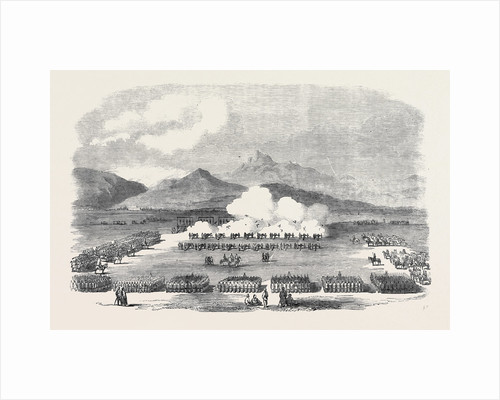 Execution of Mutineers at Peshawur: Blowing from the Guns by Anonymous