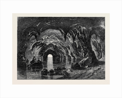 The Blue Grotto at Capri from Mr. Albert Smith's New Entertainment by Anonymous