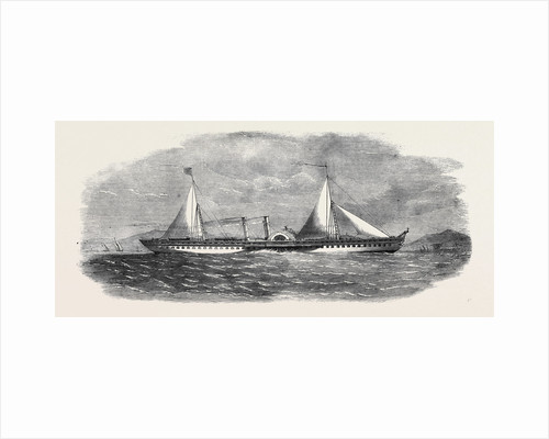 Steam Pleasure Yacht for the King of Ava by Anonymous