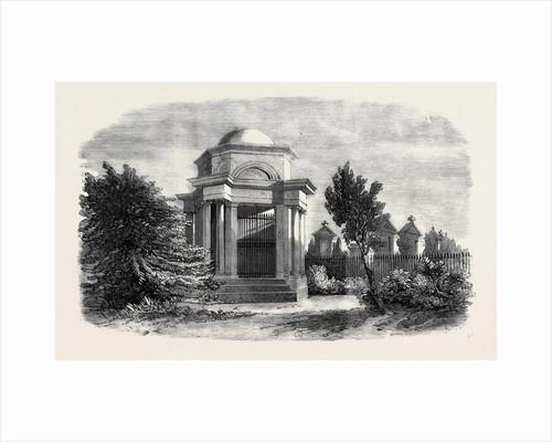 The Burns Mausoleum Dumfries the Burns Centenary by Anonymous