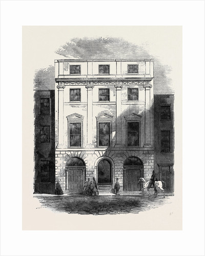 Premises Occupied by the Architectural Societies of London Conduit Street by Anonymous
