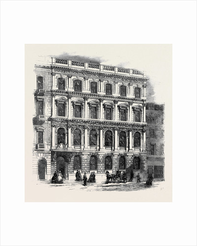 The Mutual Life Assurance Society Offices King Street Cheapside by Anonymous