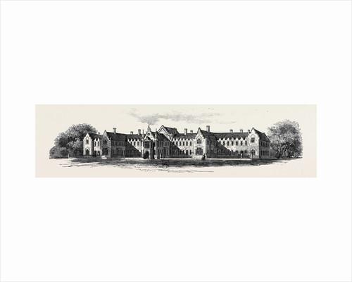 Risbridge Union Workhouse at Kedington Suffolk. by Anonymous