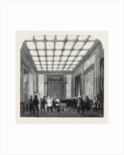 The Speaker's Levee in the Morning Room of His Residence at the New Palace of Westminster by Anonymous