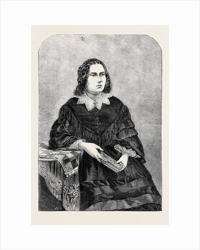 Miss Edith Heraud from a Photograph by J.R. James by Anonymous