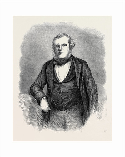 Mr. H. Dorling Clerk of the Course at Epsom from a Photograph by Spencer Baugh by Anonymous