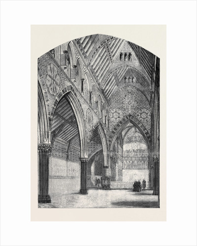 All Saints' Church Margaret Street Cavendish Square from a Drawing by Mr. Murray by Anonymous