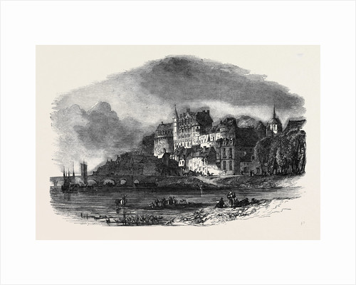 Chateau D'Amboise, on the Loire, the Prison of Abd-El-Kader by Anonymous
