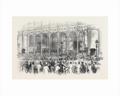 The Shilling Day, Exterior of the Exhibition, the Great Exhibition by Anonymous
