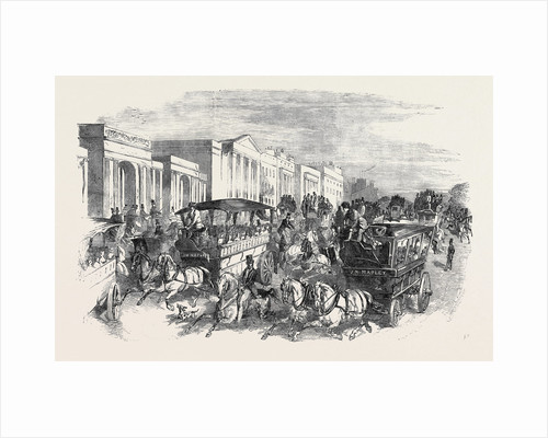 The Shilling Day, Going to the Exhibition, the Great Exhibition by Anonymous