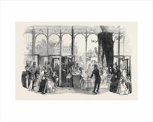 The Five Shilling Day at the Exhibition, the Great Exhibition by Anonymous