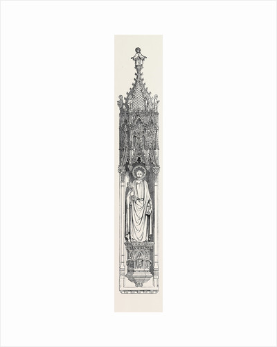 Gothic Niche, the Great Exhibition by Anonymous