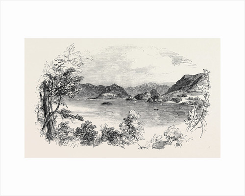 Derwent-Water, from Sir John Woodford's Grounds, the Lake District by Anonymous