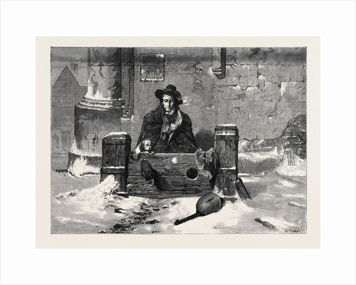 Left Out in the Cold, from the Winter Exhibition at the French Gallery Pall Mall London UK 1869 by Anonymous