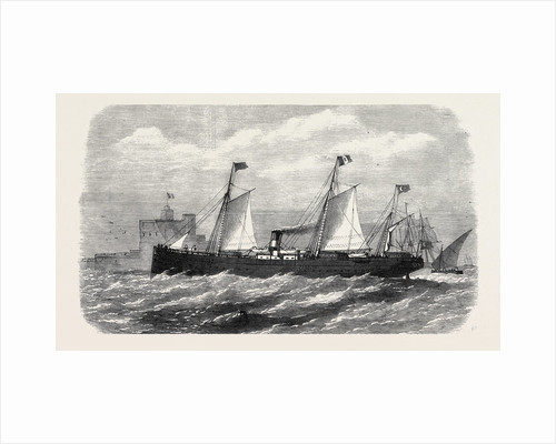 The Adriatic and Oriental Company's Screw-Steamer Cairo of the Brindisi and Alexandria Line 1869 by Anonymous