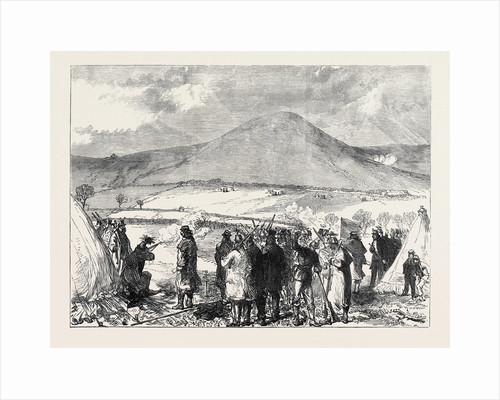 Volunteer Rifle-Match at Folkestone UK 1869 by Anonymous