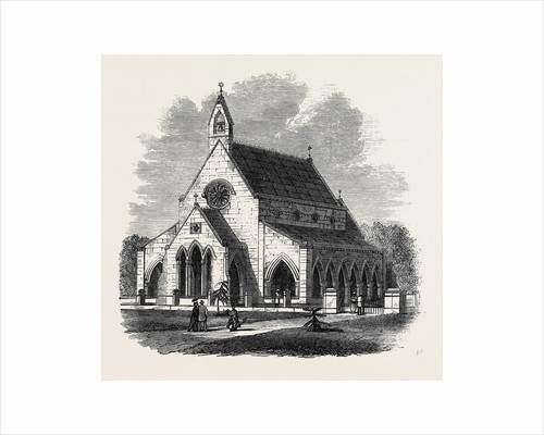 All Saints' Church Sehore Bhopal India 1869 by Anonymous