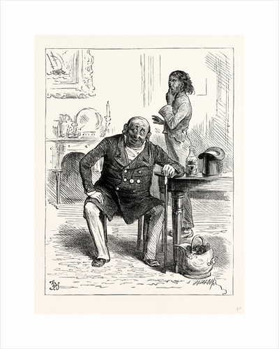Charles Dickens Dombey and Son. and When He Got There Sat Down in a Chair and Fell Into a Silent Fit of Laughter with He Was Sometimes Seized and which Was Always Particularly Awful. by Anonymous