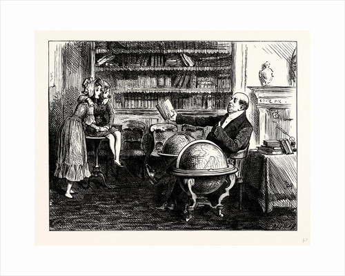 Charles Dickens Dombey and Son. When the Doctor Smiled Auspiciously at His Author or Knit His Brows or Shook His Head and Made Wry Faces at Him As Much As to Say Don't Tell Me Sir I Know Better' It Was Terrific. by Anonymous