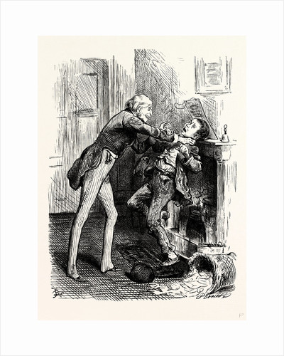 Charles Dickens Dombey and Son. Let You Alone Said Mr. Carker. by Anonymous