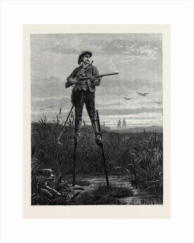 A Sportsman of the Landes France 1880 by Anonymous