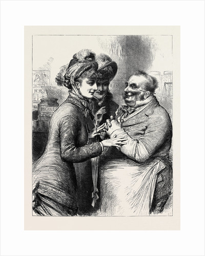 The General Election: Canvassing 1880 by Anonymous
